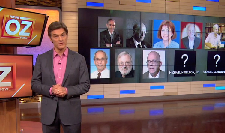 Dr Oz exposes his pro-GMO critics