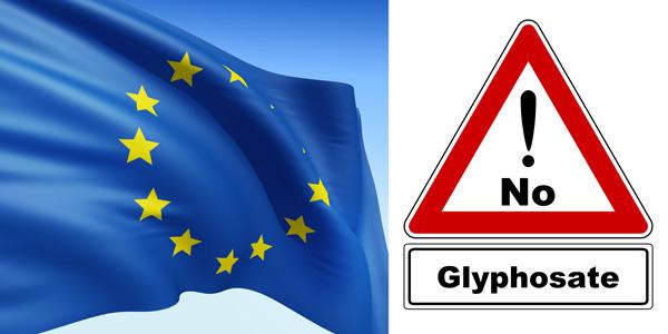 European flag reject_Glyphosate