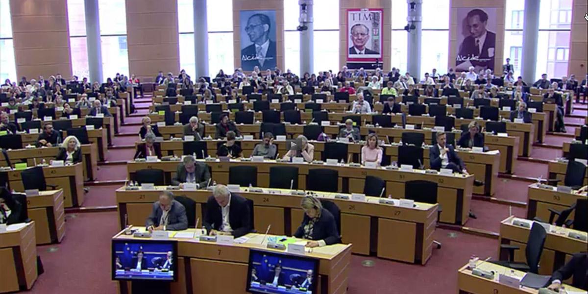 European Parliament audience