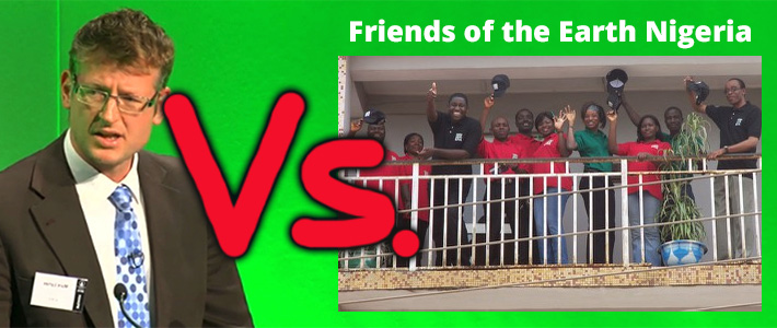 Mark Lynas versus Friends of the Earth Nigeria