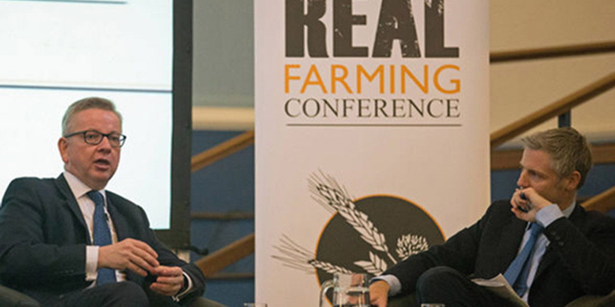 Michael Gove at Oxford Farming Conference