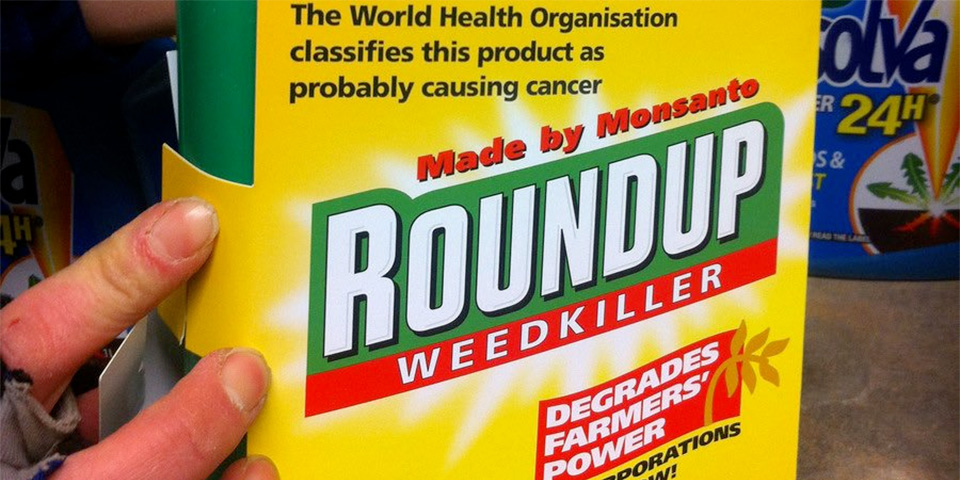 Monsanto Roundup probably carcinogen label