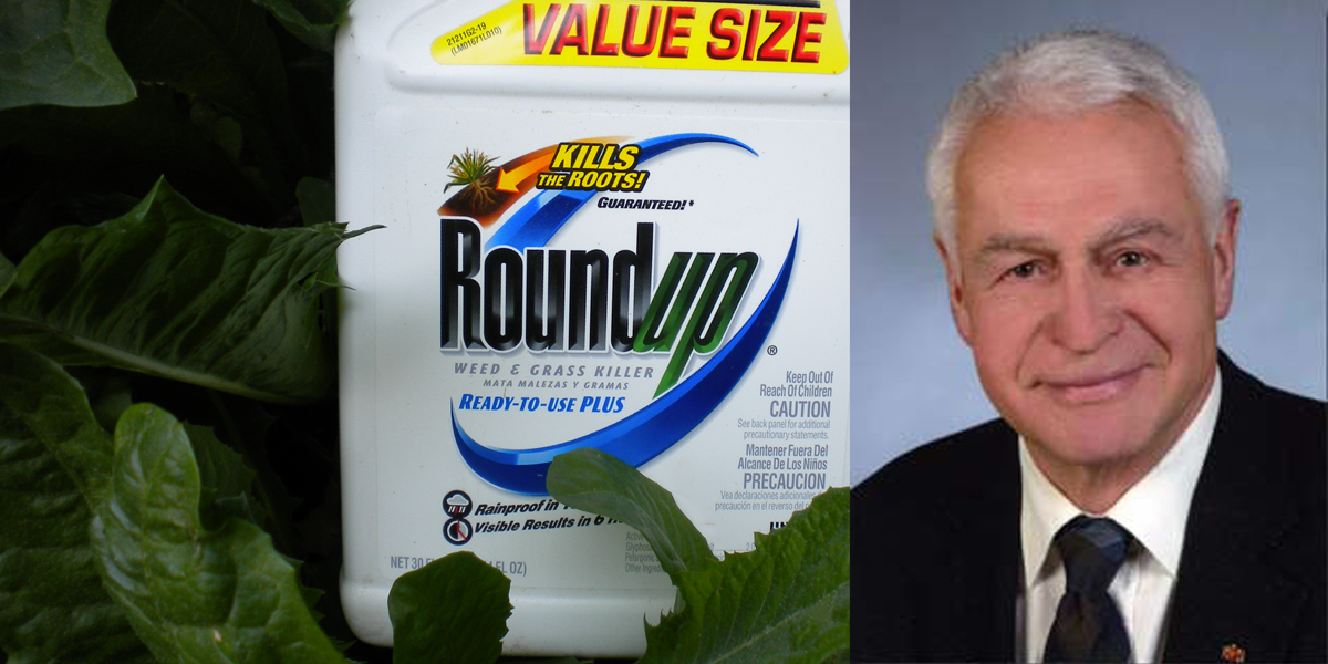Helmut Greim told German Parliament glyphosate doesn't pose cancer risk