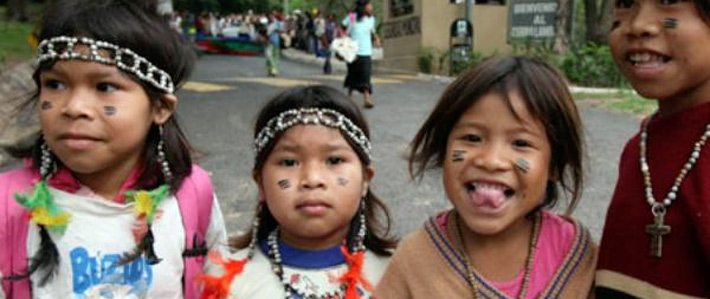 indigenious children