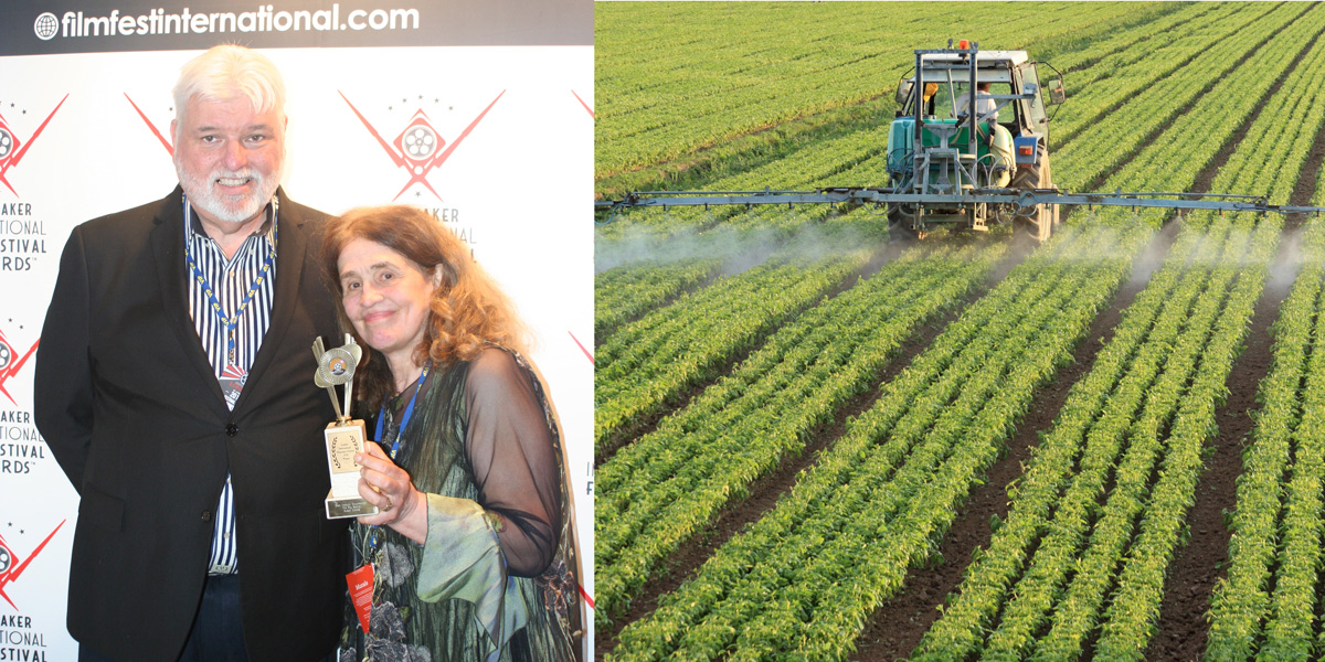 Alex Voss and Susan Downs pesticide dangers film
