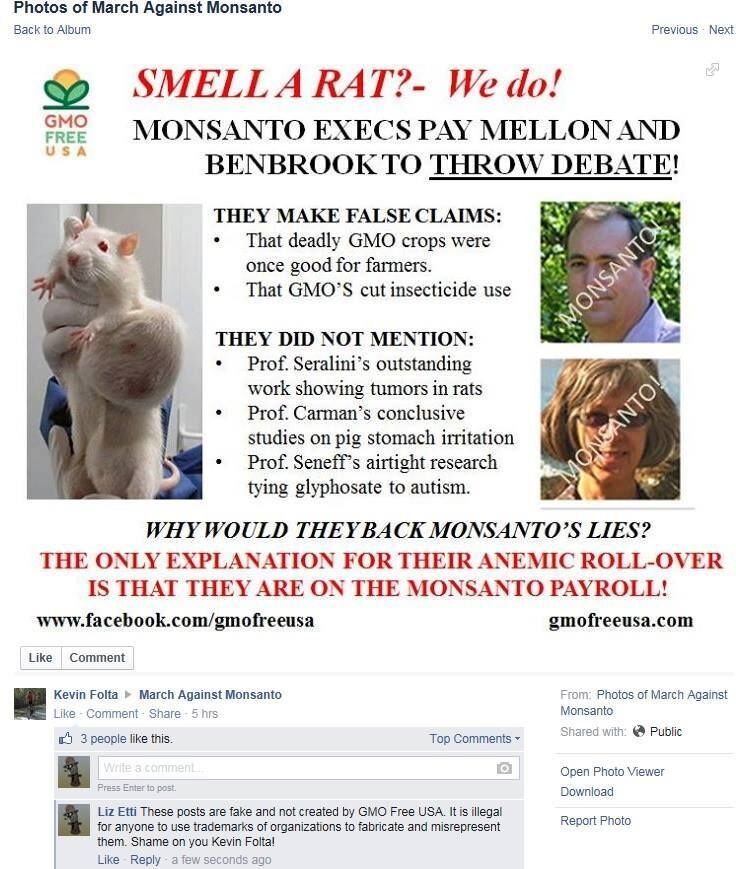 Folta Fake graphic of March Against Monsanto, with comment.jpg