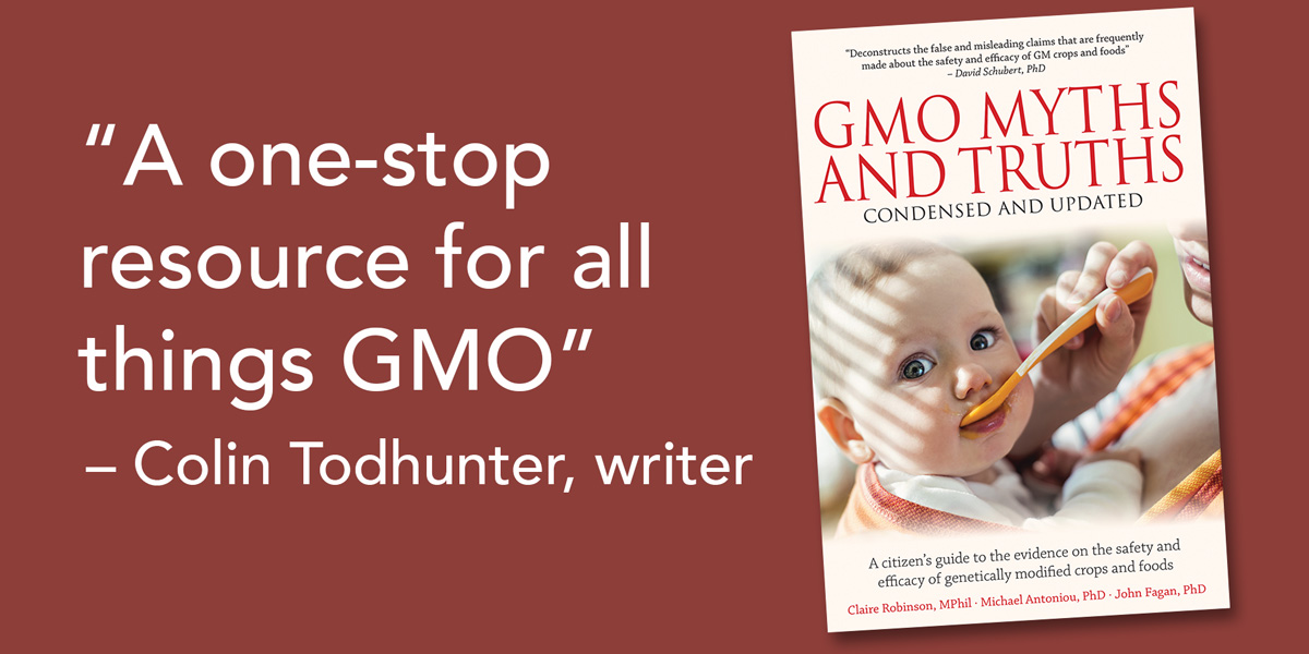 GMO Myths and Truths condensed and updated