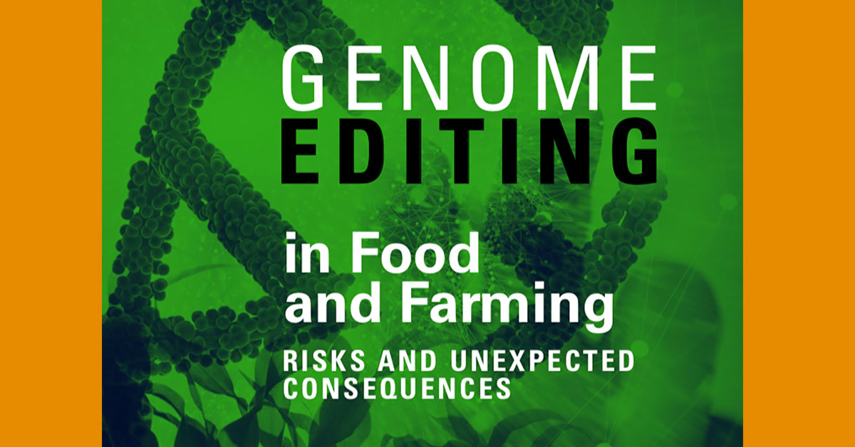 Genome Editing in Food and Farming