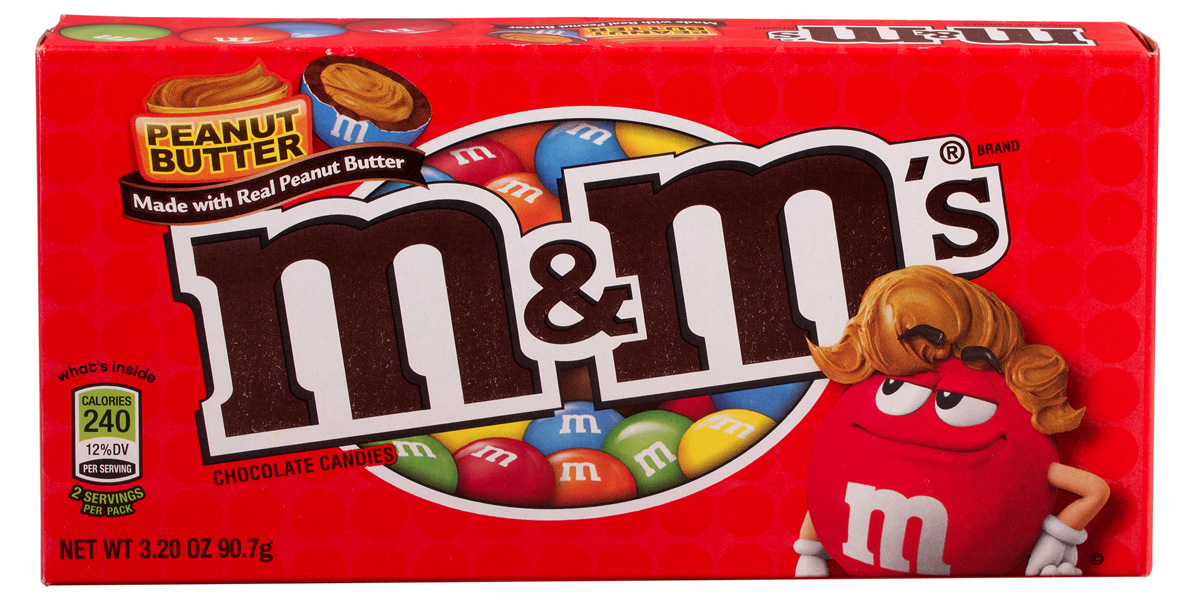 M&M Peanut Butter Candies
