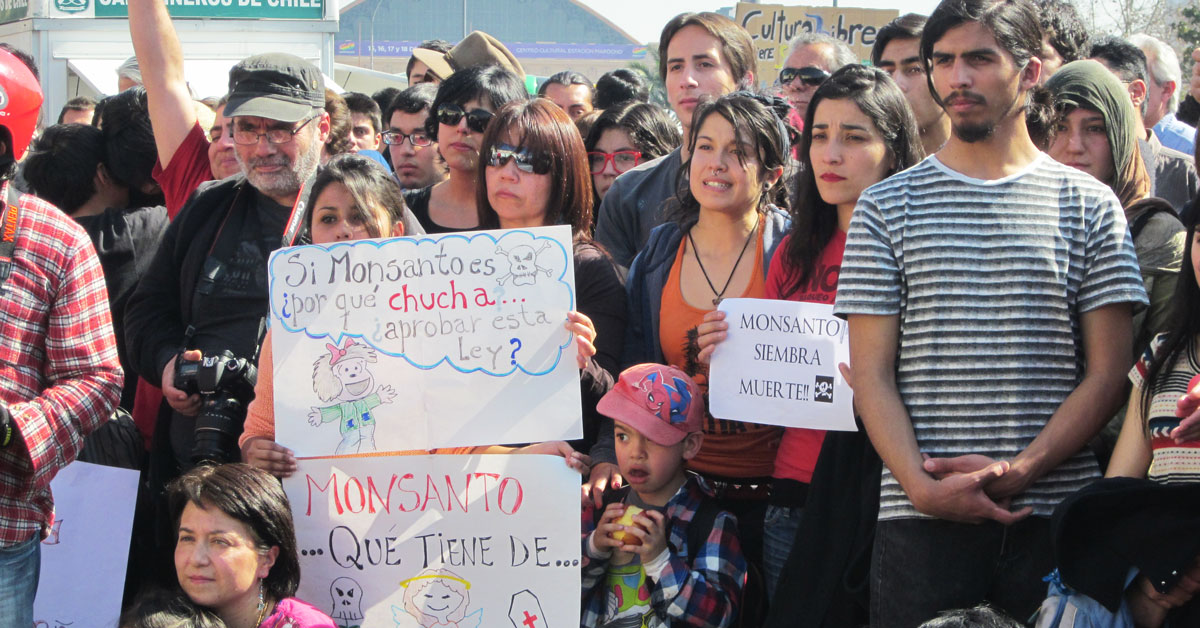 March Against Monsanto, Chile