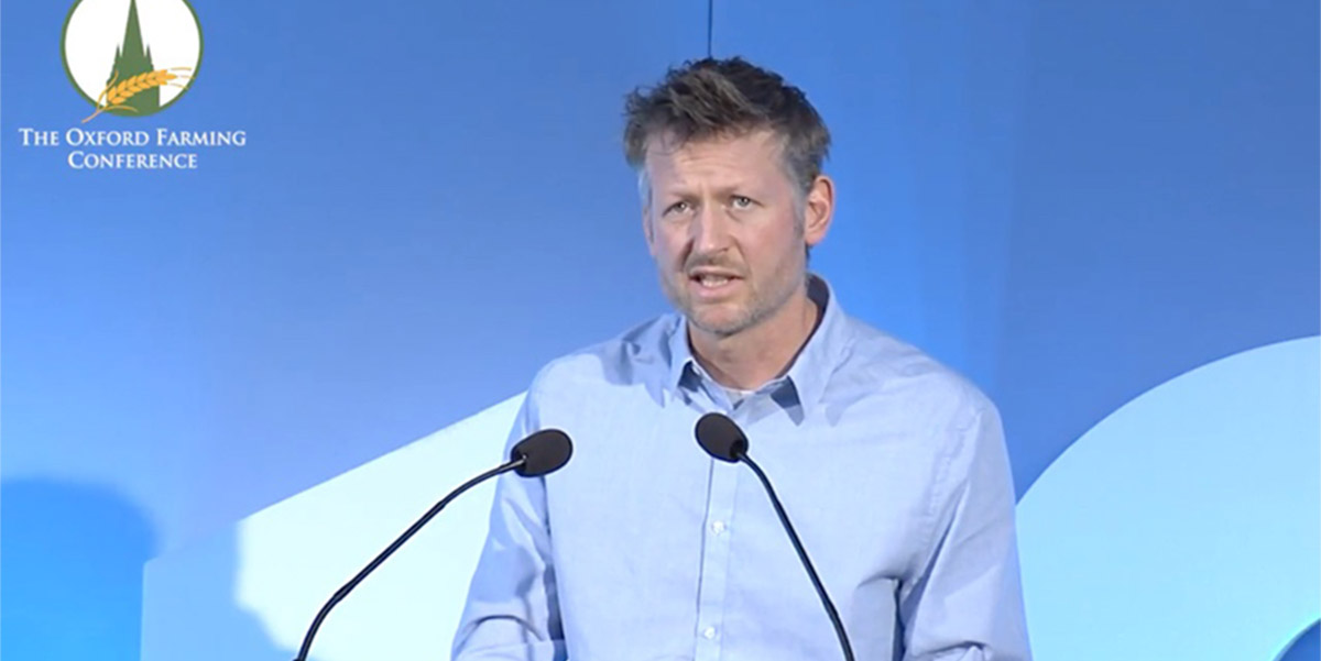 Mark Lynas  in Oxford Farming conference