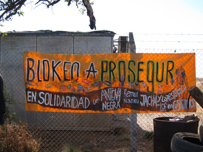 Monsanto blockade