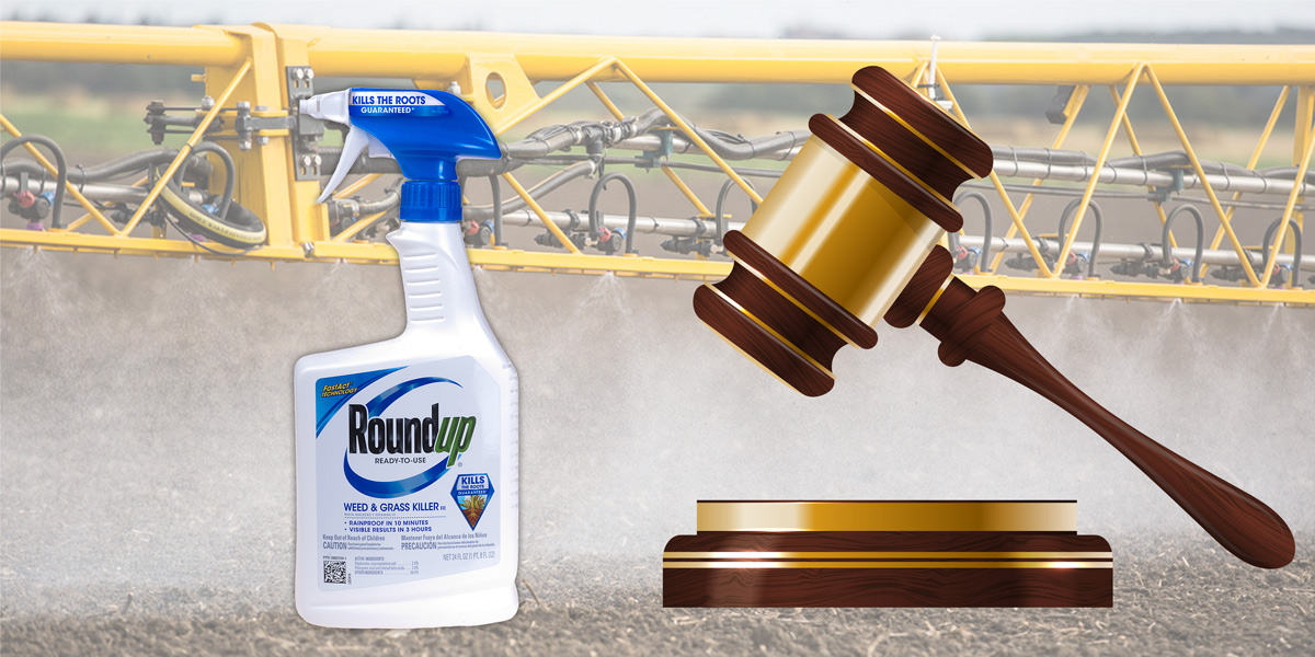 Roundup, Crop Spraying and Gavel