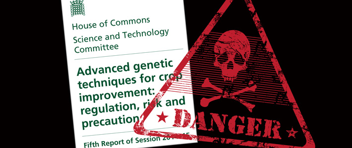 Select committee Report on Advanced genetic techniques for crop improvement