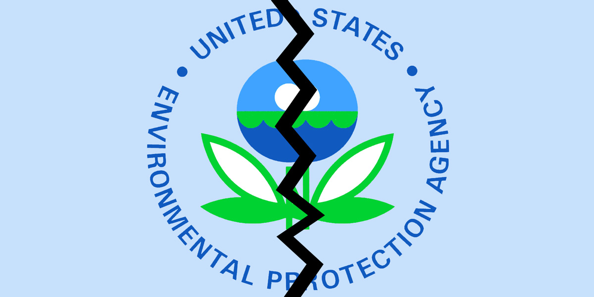 Split in US Environmental Protection Agency