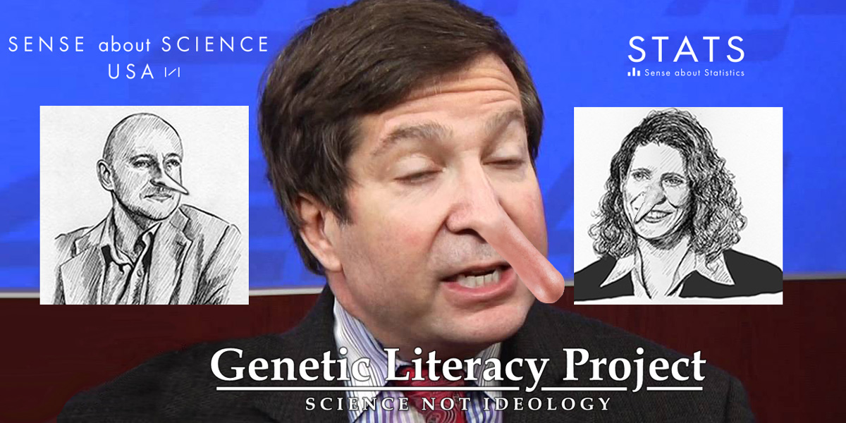 Jon Entine, Trevor Butterworth and Rebecca_Goldin - the three stooges of science denial