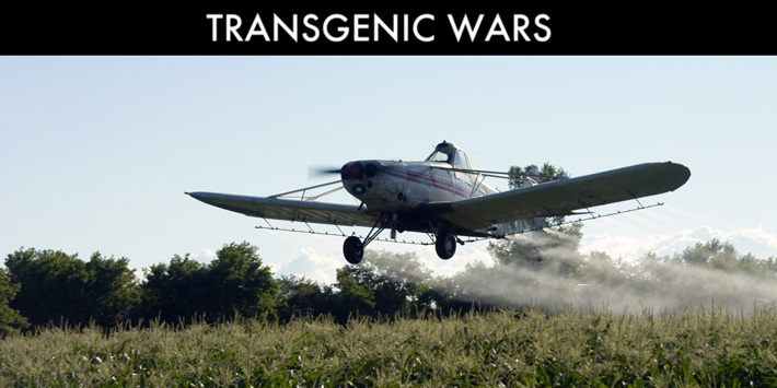 Transgen Wars Crop Duster Plane