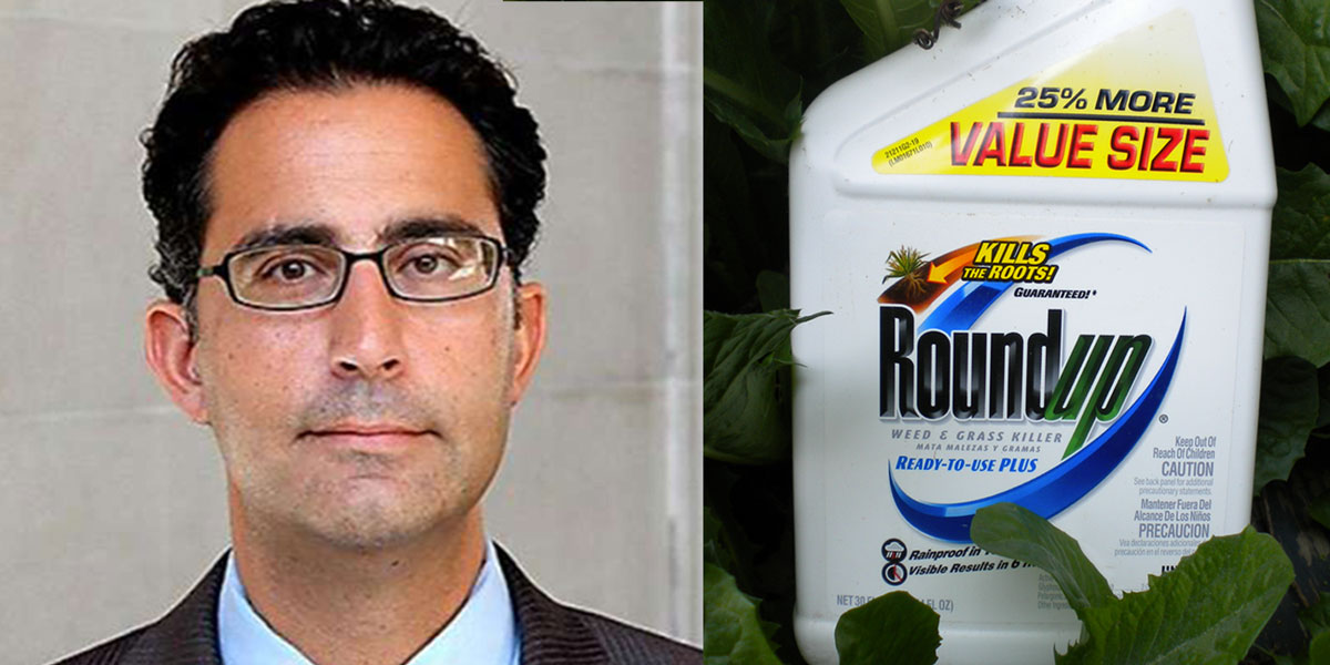 US District Judge Vince Chhabria and Roundup
