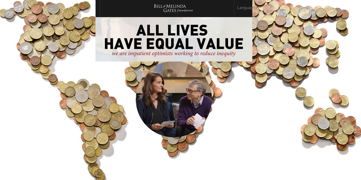 Gates Foundation and world of money